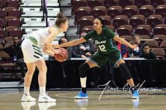 NCAA Women's Basketball AAC 1st Round - #5 USF 61 vs. #12 Tulane 52 (25)