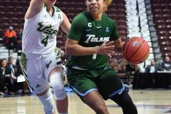 NCAA Women's Basketball AAC 1st Round - #5 USF 61 vs. #12 Tulane 52 (27)