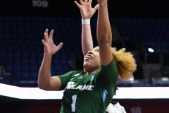 NCAA Women's Basketball AAC 1st Round - #5 USF 61 vs. #12 Tulane 52 (28)