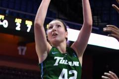 NCAA Women's Basketball AAC 1st Round - #5 USF 61 vs. #12 Tulane 52 (29)