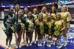 NCAA Women's Basketball AAC 1st Round - #5 USF 61 vs. #12 Tulane 52 (3)