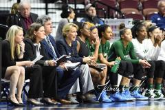 NCAA Women's Basketball AAC 1st Round - #5 USF 61 vs. #12 Tulane 52 (32)