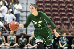 NCAA Women's Basketball AAC 1st Round - #5 USF 61 vs. #12 Tulane 52 (33)