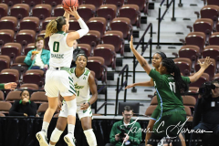 NCAA Women's Basketball AAC 1st Round - #5 USF 61 vs. #12 Tulane 52 (34)