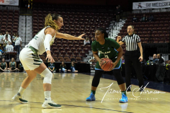NCAA Women's Basketball AAC 1st Round - #5 USF 61 vs. #12 Tulane 52 (35)