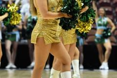 NCAA Women's Basketball AAC 1st Round - #5 USF 61 vs. #12 Tulane 52 (38)