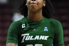 NCAA Women's Basketball AAC 1st Round - #5 USF 61 vs. #12 Tulane 52 (39)