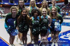 NCAA Women's Basketball AAC 1st Round - #5 USF 61 vs. #12 Tulane 52 (4)