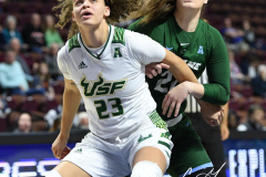 NCAA Women's Basketball AAC 1st Round - #5 USF 61 vs. #12 Tulane 52 (41)