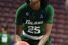 NCAA Women's Basketball AAC 1st Round - #5 USF 61 vs. #12 Tulane 52 (43)