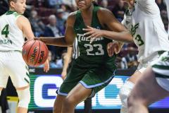 NCAA Women's Basketball AAC 1st Round - #5 USF 61 vs. #12 Tulane 52 (44)