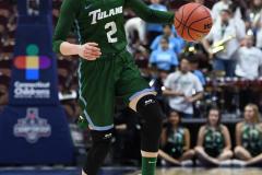 NCAA Women's Basketball AAC 1st Round - #5 USF 61 vs. #12 Tulane 52 (46)