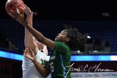 NCAA Women's Basketball AAC 1st Round - #5 USF 61 vs. #12 Tulane 52 (47)