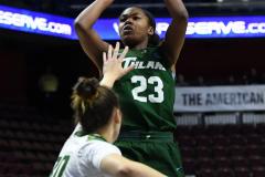 NCAA Women's Basketball AAC 1st Round - #5 USF 61 vs. #12 Tulane 52 (48)
