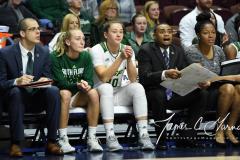 NCAA Women's Basketball AAC 1st Round - #5 USF 61 vs. #12 Tulane 52 (49)