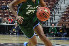 NCAA Women's Basketball AAC 1st Round - #5 USF 61 vs. #12 Tulane 52 (50)