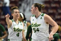 NCAA Women's Basketball AAC 1st Round - #5 USF 61 vs. #12 Tulane 52 (52)