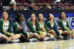 NCAA Women's Basketball AAC 1st Round - #5 USF 61 vs. #12 Tulane 52 (53)