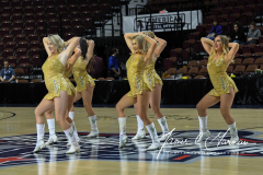 NCAA Women's Basketball AAC 1st Round - #5 USF 61 vs. #12 Tulane 52 (54)