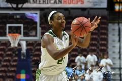 NCAA Women's Basketball AAC 1st Round - #5 USF 61 vs. #12 Tulane 52 (55)