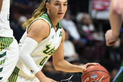 NCAA Women's Basketball AAC 1st Round - #5 USF 61 vs. #12 Tulane 52 (57)