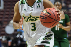NCAA Women's Basketball AAC 1st Round - #5 USF 61 vs. #12 Tulane 52 (60)