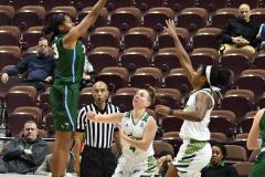 NCAA Women's Basketball AAC 1st Round - #5 USF 61 vs. #12 Tulane 52 (61)