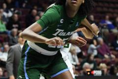 NCAA Women's Basketball AAC 1st Round - #5 USF 61 vs. #12 Tulane 52 (66)