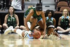 NCAA Women's Basketball AAC 1st Round - #5 USF 61 vs. #12 Tulane 52 (67)