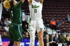 NCAA Women's Basketball AAC 1st Round - #5 USF 61 vs. #12 Tulane 52 (68)