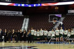 NCAA Women's Basketball AAC 1st Round - #5 USF 61 vs. #12 Tulane 52 (7)