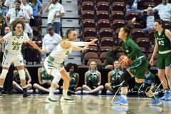 NCAA Women's Basketball AAC 1st Round - #5 USF 61 vs. #12 Tulane 52 (70)