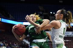 NCAA Women's Basketball AAC 1st Round - #5 USF 61 vs. #12 Tulane 52 (73)