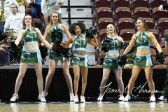 NCAA Women's Basketball AAC 1st Round - #5 USF 61 vs. #12 Tulane 52 (74)