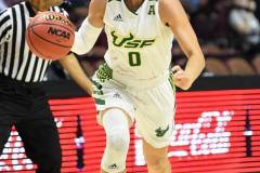 NCAA Women's Basketball AAC 1st Round - #5 USF 61 vs. #12 Tulane 52 (75)