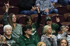 NCAA Women's Basketball AAC 1st Round - #5 USF 61 vs. #12 Tulane 52 (80)