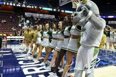 NCAA Women's Basketball AAC 1st Round - #5 USF 61 vs. #12 Tulane 52 (81)