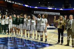 NCAA Women's Basketball AAC 1st Round - #5 USF 61 vs. #12 Tulane 52 (82)
