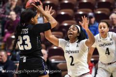 Gallery NCAA Women's Basketball AAC Tournament Quarterfinal - #3 Cincinnati 68 vs #11 Memphis 48-16