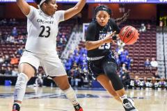 Gallery NCAA Women's Basketball AAC Tournament Quarterfinal - #3 Cincinnati 68 vs #11 Memphis 48-22
