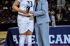 Gallery NCAA Women's Basketball AAC Tournament Quarterfinal - #3 Cincinnati 68 vs #11 Memphis 48-6