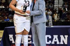 Gallery NCAA Women's Basketball AAC Tournament Quarterfinal - #3 Cincinnati 68 vs #11 Memphis 48-7