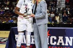 Gallery NCAA Women's Basketball AAC Tournament Quarterfinal - #3 Cincinnati 68 vs #11 Memphis 48-8