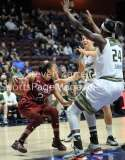 NCAA Women's Basketball AAC Tournament SF - #2 USF 64 vs #3 Temple 46-20