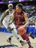 NCAA Women's Basketball AAC Tournament SF - #2 USF 64 vs #3 Temple 46-21