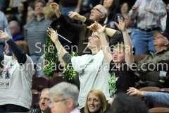 NCAA Women's Basketball AAC Tournament SF - #2 USF 64 vs #3 Temple 46-24