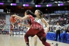 NCAA Women's Basketball AAC Tournament SF - #2 USF 64 vs #3 Temple 46-67