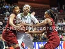 NCAA Women's Basketball AAC Tournament SF - #2 USF 64 vs #3 Temple 46-79