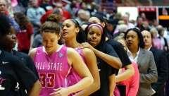 NCAA Women's Basketball: Ball State 60 vs Western Michigan 54, Worthen Arena, Muncie IN, February 20, 2016