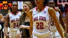 NCAA Women's Basketball: Ball State 91 vs Bowling Green 70, Worthen Arena, Muncie IN, February 08, 2017